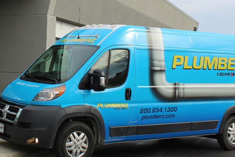 Plumberz Service van