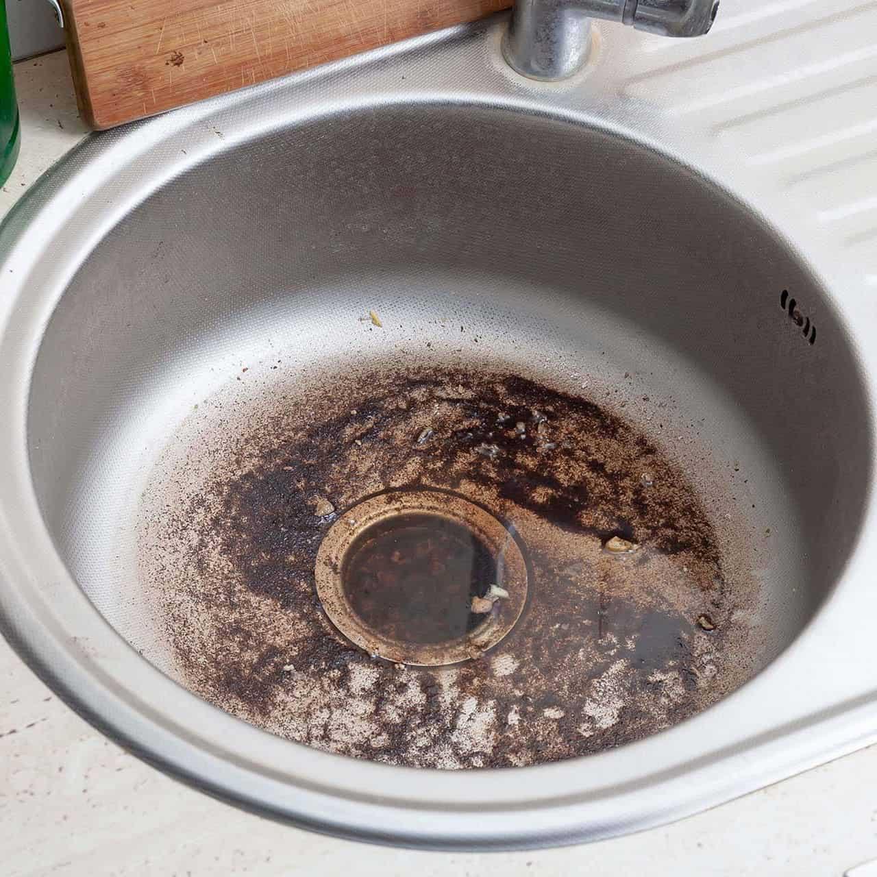 clogged-sink